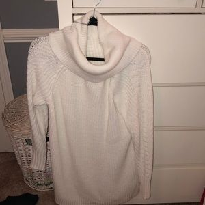 NWT a new day white cowl neck sweater dress